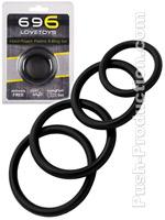 Hard Power Potent 4-Ring Set